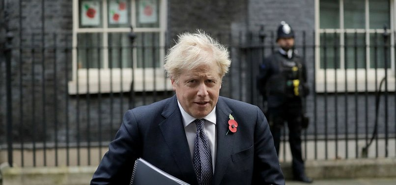 UKS JOHNSON SAYS ESCAPE ROUTE IN SIGHT FROM VIRUS