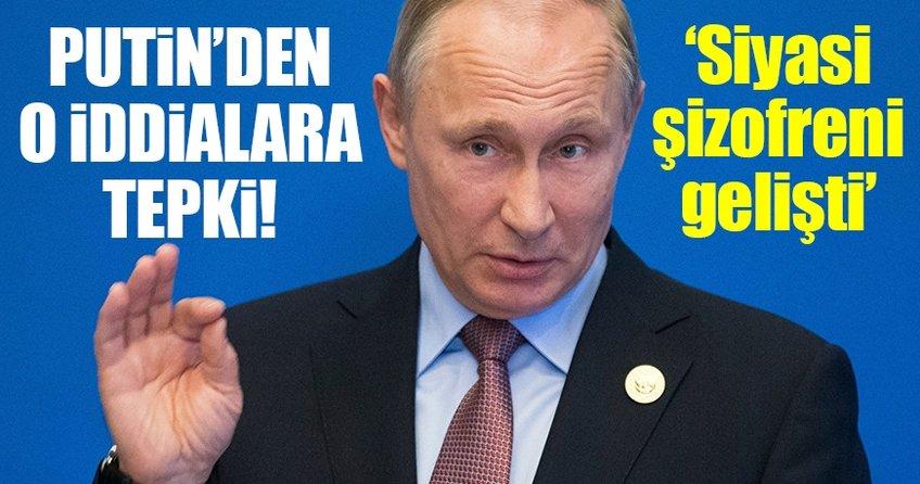 Putin: ABD'de siyasi şizofreni gelişti!