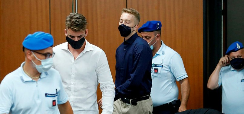 US STUDENT CHARGED WITH MURDER OF ITALIAN POLICEMAN APOLOGISES IN COURT