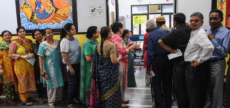 VOTING BEGINS IN INDIAS LENGTHY ELECTIONS