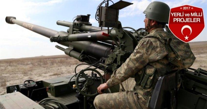 T-155 Türk yapımı 'Panter' obüs