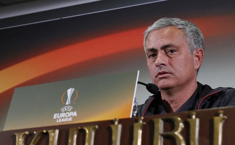 Sukru Saracoglu Stadium, Istanbul, Turkey - 2/11/16 Manchester United manager Jose Mourinho during the press conference. (REUTERS Photo)