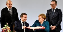 Germany, France sign treaty building on 1963 Elysee accord