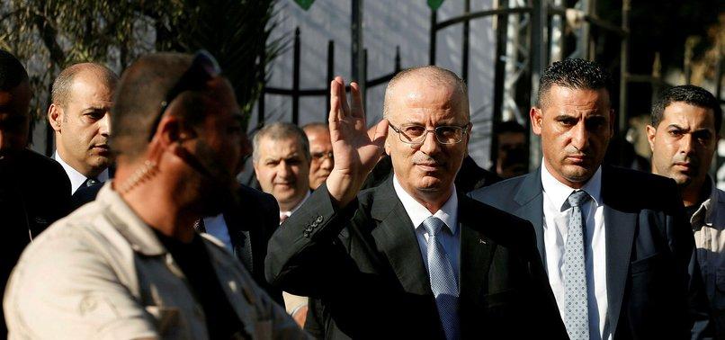 EXPLOSION STRIKES PALESTINIAN PM HAMDALLAHS CONVOY IN GAZA