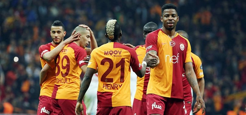 GALATASARAY ROUT ANTALYASPOR 5-0, CONTINUE TITLE CHASE