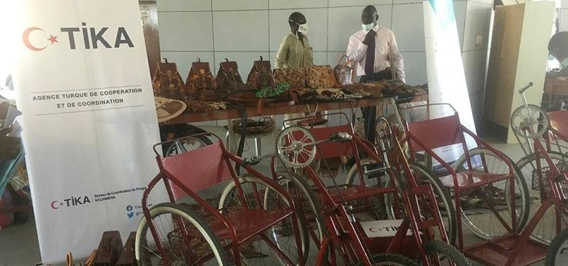 TURKISH AID AGENCY TIKA SUPPORTS CHAD ON DAY OF DISABLED PERSONS