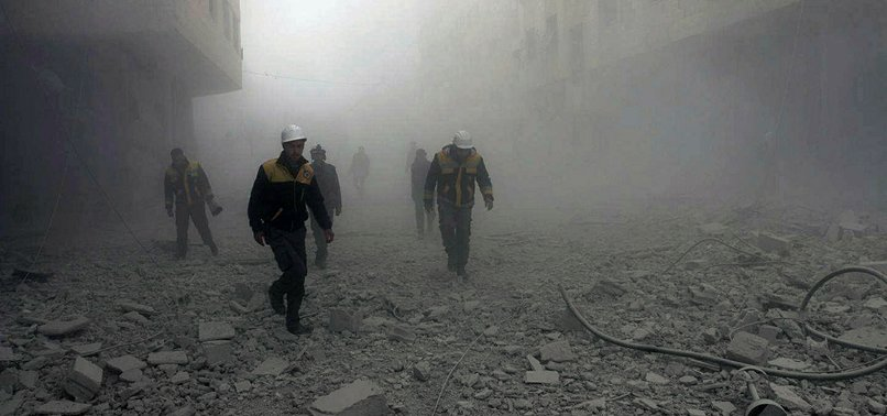 DEATH TOLL FROM ASSAD REGIME ATTACKS ON SYRIAS EASTERN GHOUTA REACHES 36