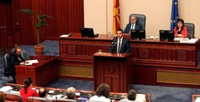 Macedonian parliament ratifies name agreement with Greece
