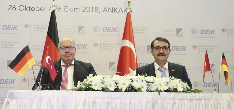 TURKEY, GERMANY AGREE TO JOIN FORCES FOR NEW ENERGY, INDUSTRY PROJECTS