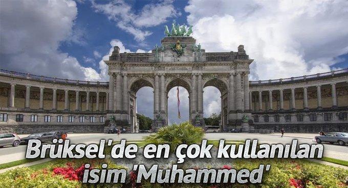 Brükselde en çok kullanılan isim Muhammed