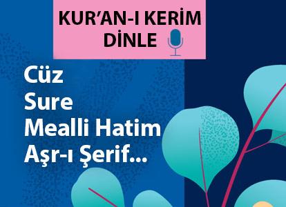 KUR'AN-I KERİM DİNLE