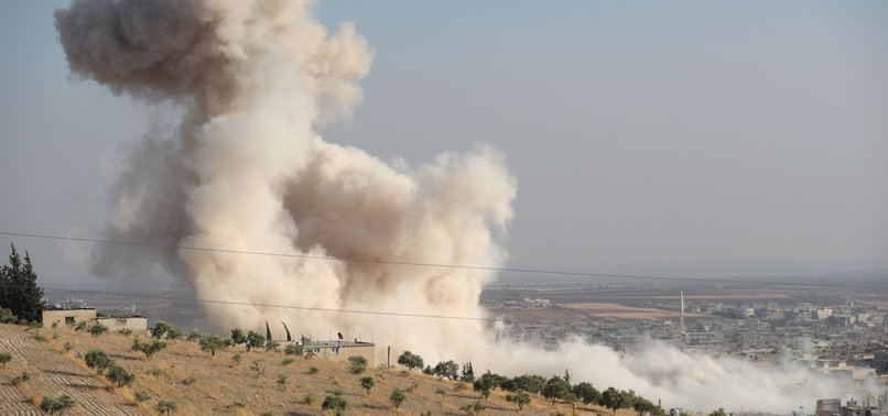RUSSIAN AIRSTRIKE HITS SYRIAN OPPOSITION TARGETS IN IDLIB, LEAVES DOZENS OF SNA MEMBERS DEAD