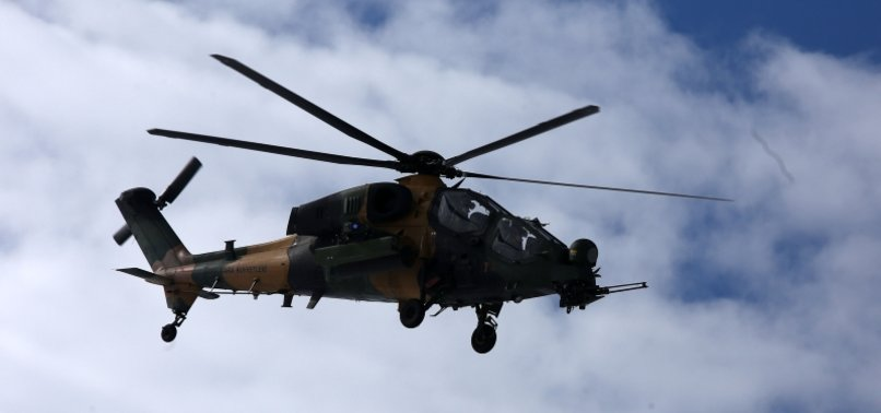 TURKEYS ATAK HELICOPTER MAKES FIRST FLIGHT OVER BRAZIL AHEAD OF DEFENSE FAIR