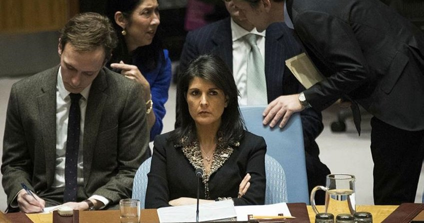 ABD'den BM'ye Kudüs intikamı