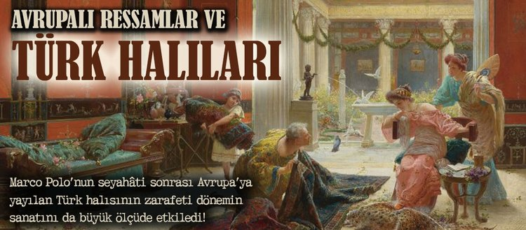 Türk halıları ve Avrupalı ressamlar