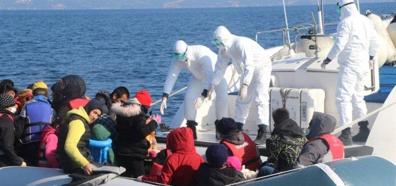 TURKEY RESCUES 68 ASYLUM SEEKERS IN NORTHERN AEGEAN SEA