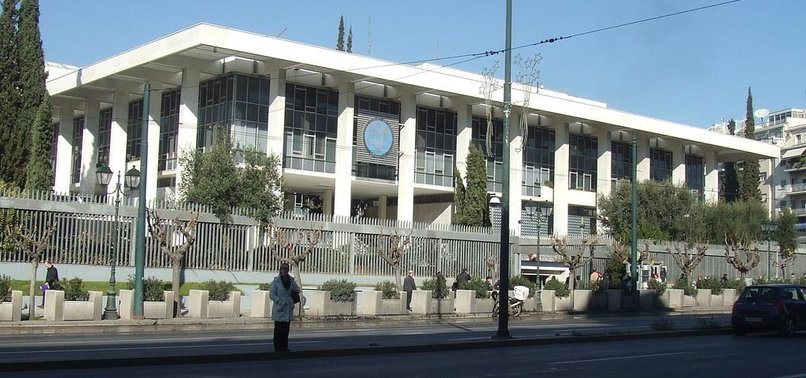 FETO SUSPECT CLIMBS WALL OF US EMBASSY LOCATED IN ATHENS FOR ASYLUM