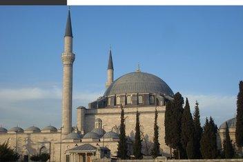 İstanbul'un beşinci tepesindeki Yavuz Sultan Selim Camii