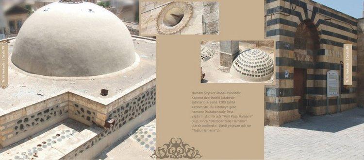 Osmanlı dönemi yapıtlarından tarihi Tuğlu Hamamı
