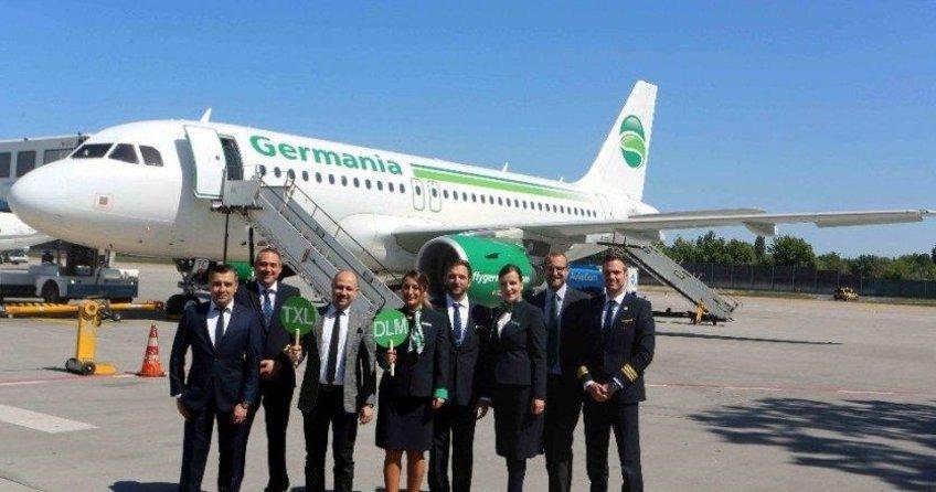 Dalaman'a ilk uçuş gerçekleşti
