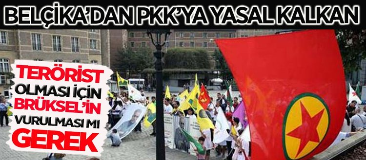 Belçika'dan PKK'lılar terörden yargılanamaz kararı