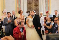 The Grand Synagogue of Edirne in northwestern Turkey hosted on Sunday its first wedding ceremony in more than four decades. Though it was no different than traditional Jewish weddings, it bears a...
