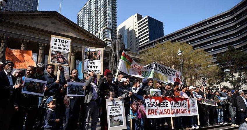 Avustralyalılardan Arakandaki katliama tepki
