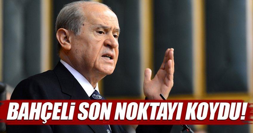 'Bahçeli hayır diyecek' iddiasına MHP'den cevap!