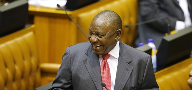 CYRIL RAMAPHOSA BECOMES NEW PRESIDENT OF SOUTH AFRICA
