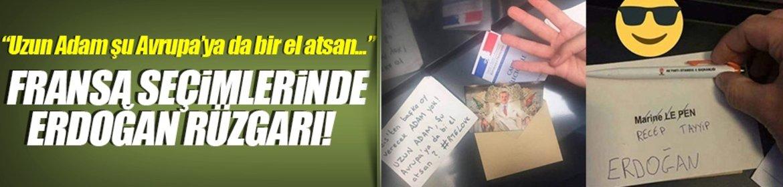 Erdoğan Fransa seçimlerine damga vurdu