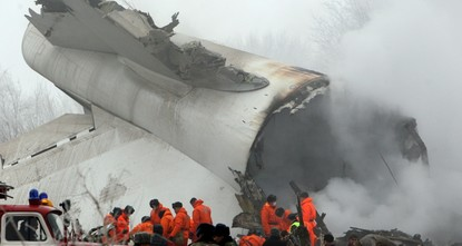 A cargo plane operated by the Turkish-Chinese aviation company MyCargo crashed in the Central Asian country of Kyrgyzstan on Monday, killing at least 37 people including crew members and local...