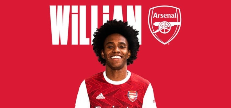 ARSENAL SIGN BRAZIL WINGER WILLIAN ON THREE-YEAR CONTRACT