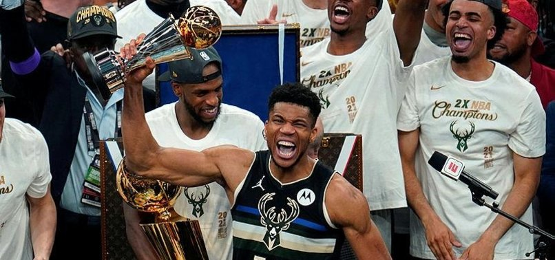 ANTETOKOUNMPO NAMED NBA FINALS MOST VALUABLE PLAYER