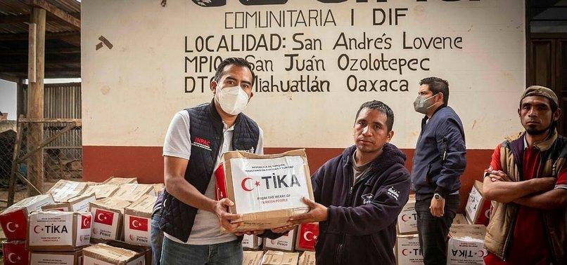TURKEY SENDS EARTHQUAKE AID TO MEXICO