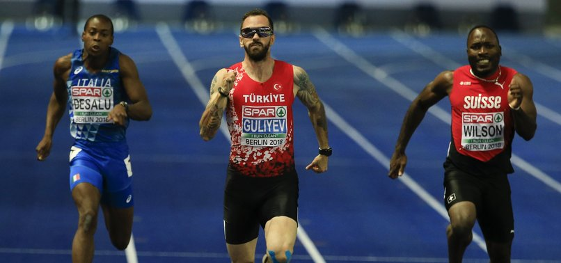 TURKEYS GULIYEV BAGS GOLD MEDAL IN MENS 200 METERS