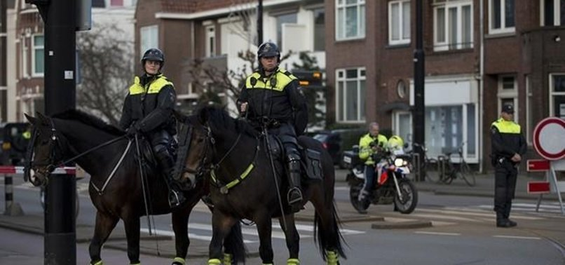 DUTCH POLICE ARREST 4 SUSPECTS PLANNING ATTACK ON TURKISH CONSULATE