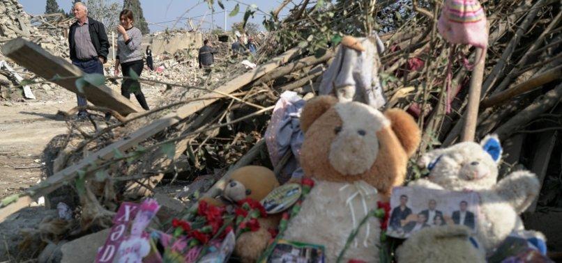 ARMENIAN ATTACKS KILL 61 CIVILIANS TOTAL IN AZERBAIJAN