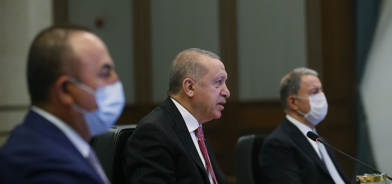 TURKEYS ERDOĞAN: LASTING SOLUTION TO SYRIA CONFLICT ARE OUR PRIORITY