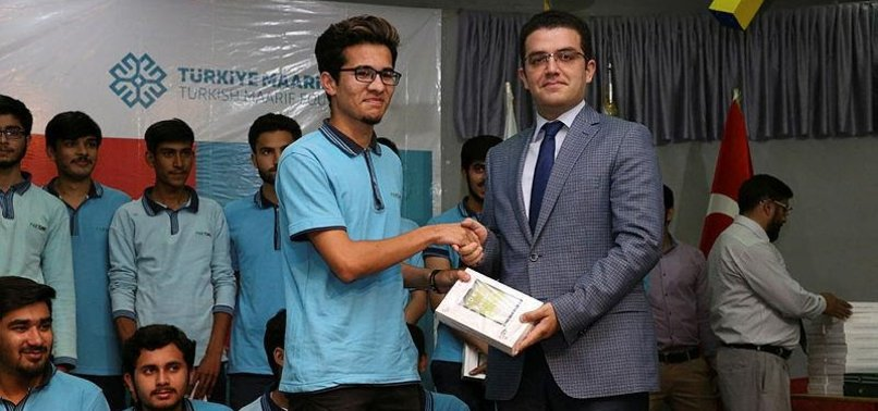 TURKISH AID AGENCY DISTRIBUTES TABLETS IN PAKISTAN
