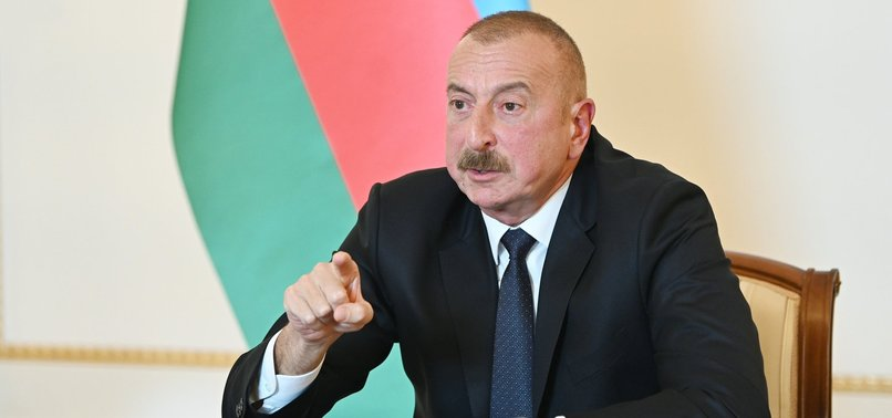 ALIYEV VOWS TO LIBERATE UPPER KARABAKH FROM OCCUPATION BY DRIVING OUT ARMENIAN OCCUPIERS LIKE DOGS