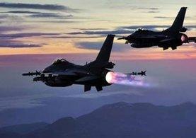 TSK'dan hava harekatı! 4 terörist öldürüldü...