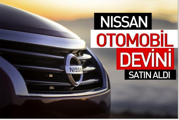Nissan otomobil devini satın aldı