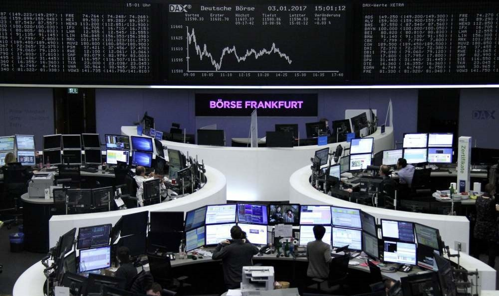 European markets were poised for a positive start yesterday, with Germany's DAX and France's CAC 40 to start the day up 0.3 percent.