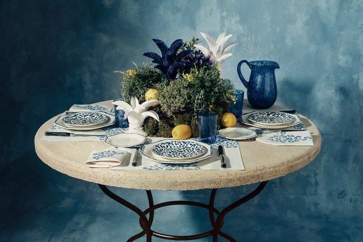 Zarafet Timsaline Saygı Duruşu: Dior Maison Blue Mizza