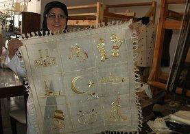 Erzurum'da kadınlar 'ehram'a sahip çıktı