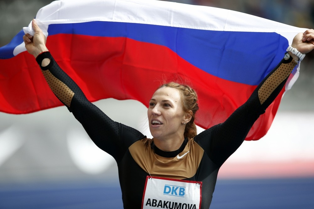 Javelin thrower Russiau2019s Maria Abakumovau2019s doping retests came back positive.