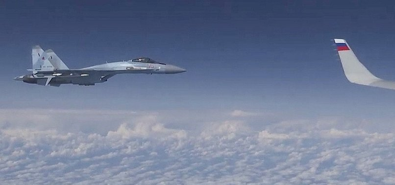 RUSSIA INTERCEPTS US NAVY PLANES OVER BLACK SEA