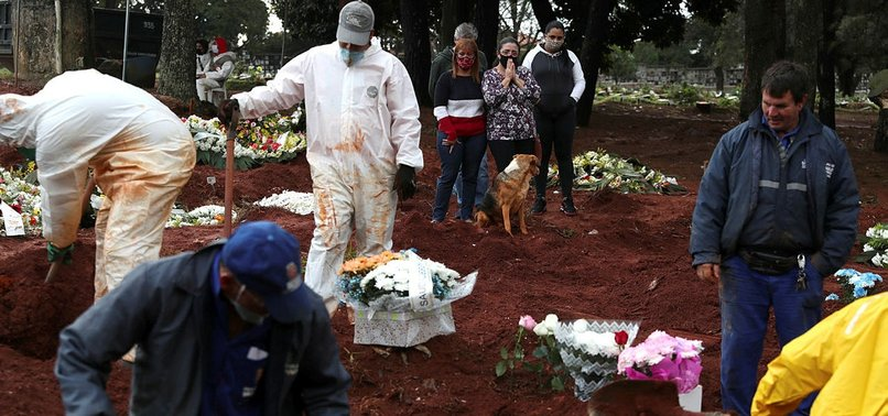1,109 MORE VIRUS DEATHS IN BRAZIL AND 602 IN MEXICO