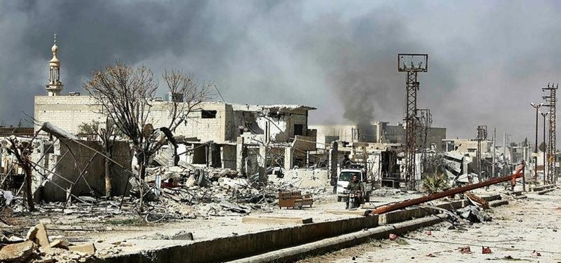 UN AID CONVOY ENTERS SYRIAS EASTERN GHOUTA