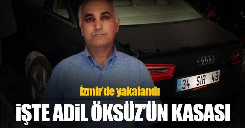 Adil Öksüzün kasası İzmirde yakalandı